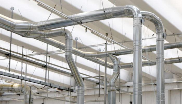 Sistema di aspirazione centralizzato industriale