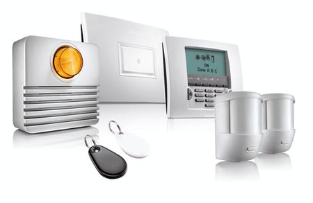 Principali componenti dell'allarme wireless Somfy