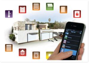 Con Protexial Io puoi gestire i dispositivi della casa direttamente dallo smartphone
