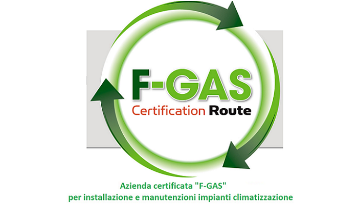Certificazione F-GAS Degli Impianti Di Climatizzazione